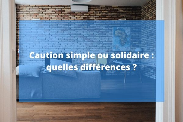 Article Unkle - caution simple ou solidaire